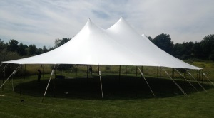 57 x 96 Stillwater Sail Cloth Tent  (5,472 sq ft)
